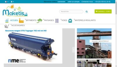 Site internet de Maketis
