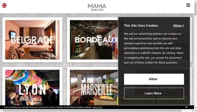 Site internet de Mama Marseille