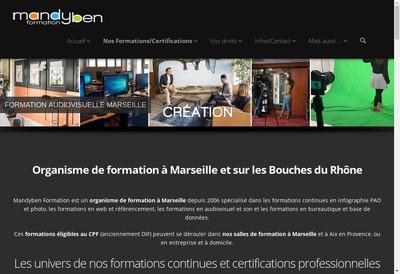 Site internet de EURL Mandyben