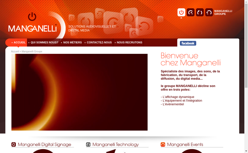 Site internet de Manganelli Ds