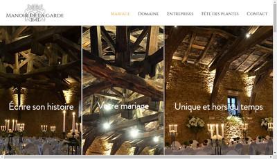 Site internet de Manoir de la Garde