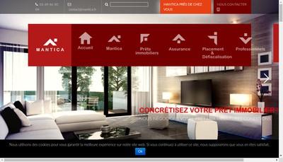 Site internet de Mantica