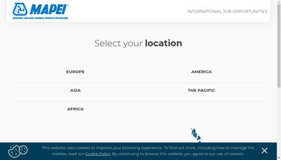 Site internet de Mapei France