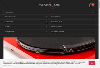 Site internet de Maplatine Com