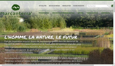 Site internet de Marcanterra