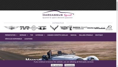 Site internet de Marcassus Sport