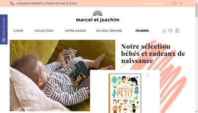 Site internet de Marcel & Joachim