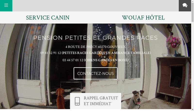 Capture d'écran du site de Francine Soeur