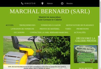 Site internet de Marchal Bernard