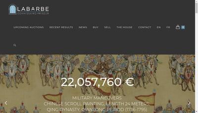 Site internet de Marc Labarbe