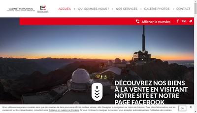 Site internet de Geomontis