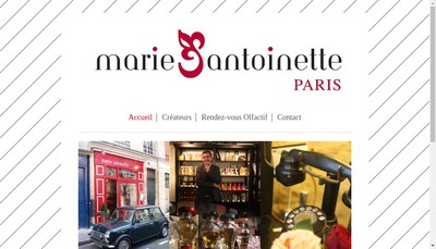 Site internet de Marie-Antoinette