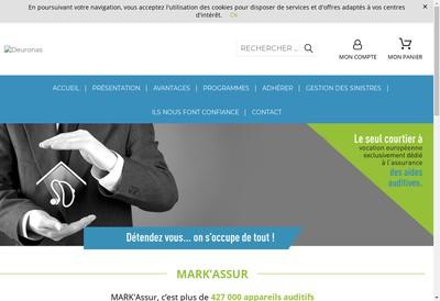 Site internet de Mark'Assur