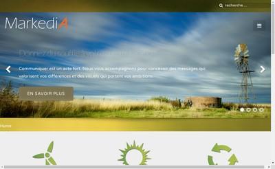 Site internet de Markedia