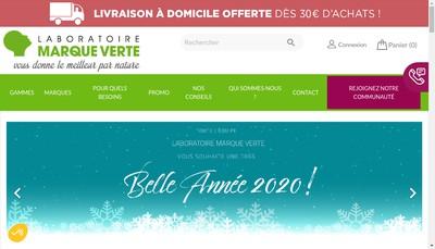 Site internet de Marque Verte Sante