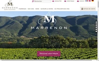 Site internet de Marrenon