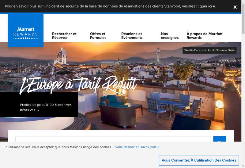 Capture d'écran du site de Cafeteria Crescendo