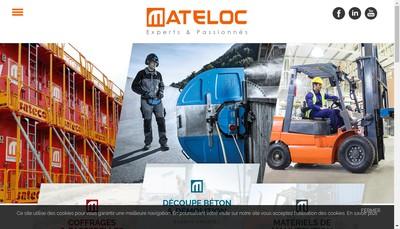 Site internet de Matedis