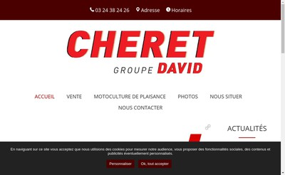 Site internet de David Est