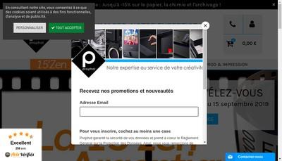 Site internet de Prophot