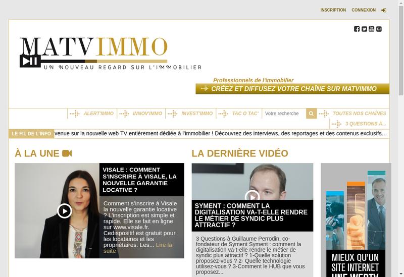 Capture d'écran du site de Rzotv
