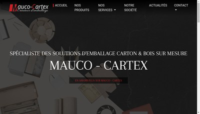 Site internet de Mauco Cartex