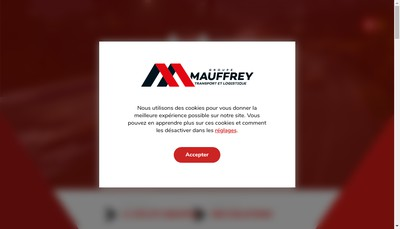 Site internet de Mauffrey Centre