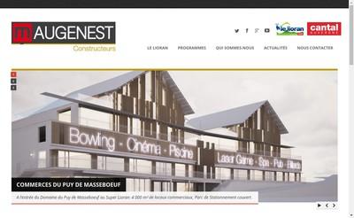 Site internet de Maugenest Constructeurs