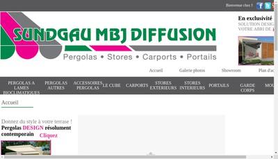 Site internet de Sundgau Mbj Diffusion SAS