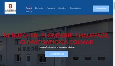 Site internet de Electricite Marcel Buecher