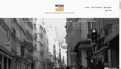 Site internet de Mcbg Conseil