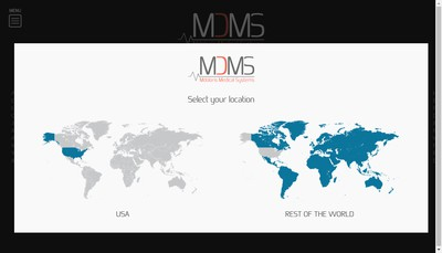 Site internet de Mdoloris Medical Systems