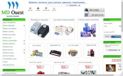 Site internet de Md Ouest