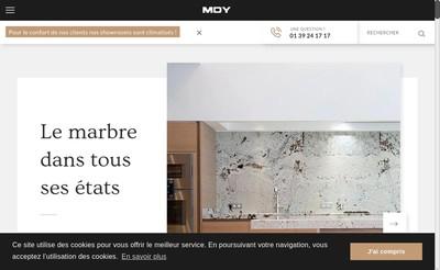 Site internet de Mdy