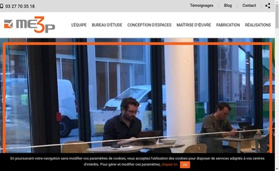 Site internet de Me3P Mo