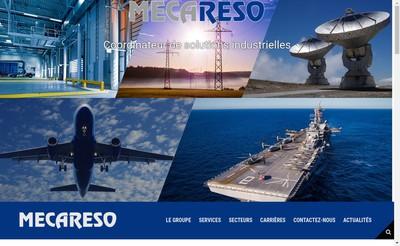 Site internet de Mecareso