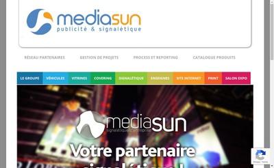 Site internet de Mediasun