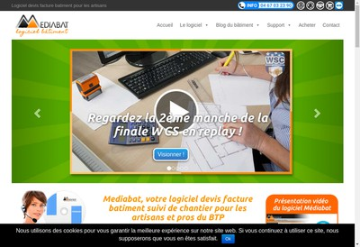 Site internet de Mediabat