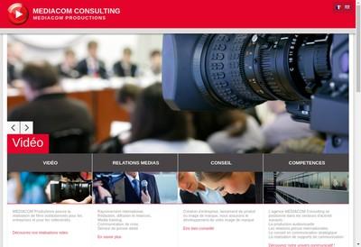 Site internet de Mediacom Presse Mediacom Corporate
