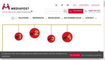 Site internet de Mediapost