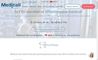 Site internet de Uni Call