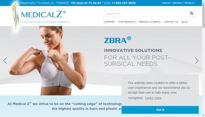 Site internet de Medical Z