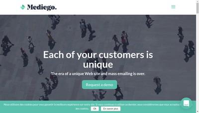 Site internet de Mediego