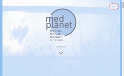 Site internet de Med Planet
