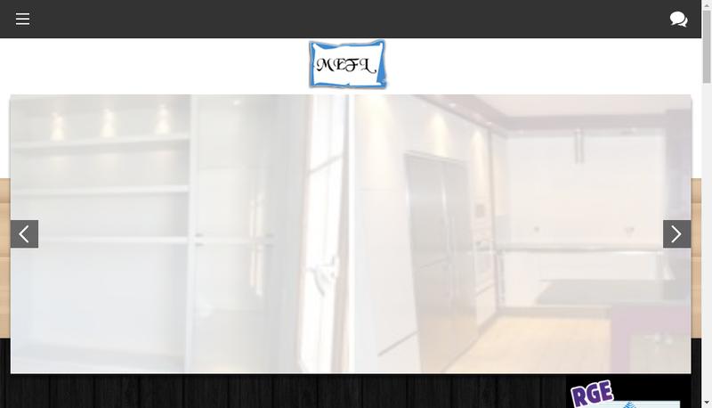 Capture d'écran du site de MEFL