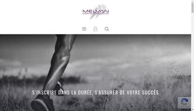 Site internet de Melvan Expertise et Consolidation