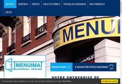 Site internet de Menuimat