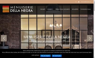 Site internet de Menuiserie Della Negra