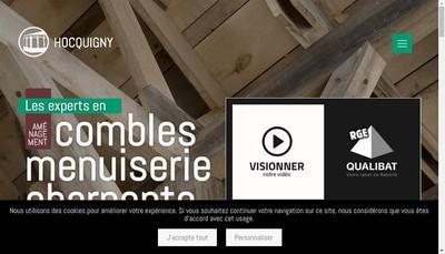 Site internet de SARL Hocquigny
