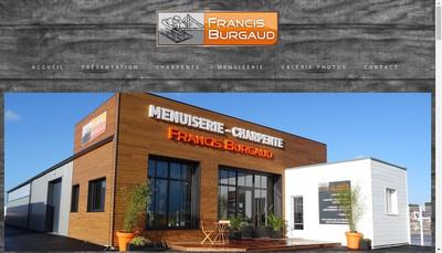 Site internet de SARL Francis Burgaud